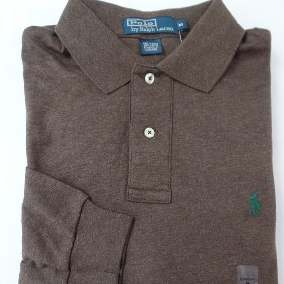 NWT-XLarge Ralph Lauren Classic Fit Interlock Orange Short Sleeve Polo Shirt//